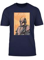 Star Wars The Mandalorian Vintage Poster T Shirt