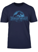 Jurassic World Blue Dinosaur Scale Logo T Shirt