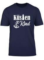 Kustenkind Kind Der Kuste Mit Leuchtturm Anker T Shirt