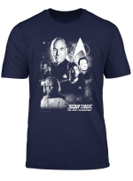 Star Trek Next Generation Captain S Crew Premium T Shirt