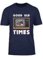 Testbild T Shirt Analog Tv Aus 80Er 90Er Jahre Retro Kostum