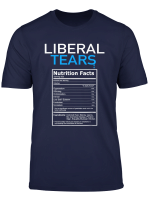 Liberal Tears Anti Liberal Pro Trump Republican Gift T Shirt
