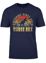 3Rd Birthday Three Rex Shirt Third Dinosaur 3 Year Old
