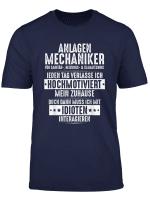 Klempner Hochmotiviert Sanitar Anlagenmechaniker T Shirt