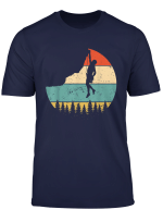 Vintage Rock Climbing T Shirt Mountain Climber Shirts
