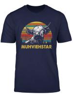 Muhviehstar Shirt Muhviehstar Kuh Kuhe Rindvieh T Shirt