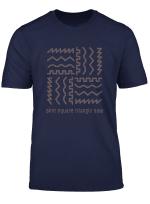 Analog Synthesizer Waveform T Shirt