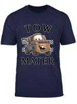 Disney Pixar Cars Tow Mater Finish Line Poster Long Sleeve T Shirt