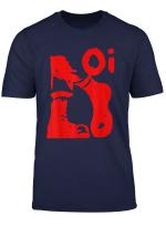 Oi Ska Music Punk Boots Rock Fans Design Red T Shirt