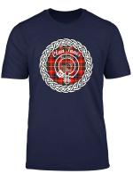 Innes Surname Last Name Scottish Clan Tartan Badge Crest T Shirt