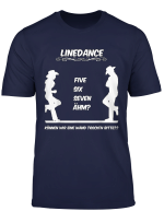 Lustiges Linedance Design T Shirt