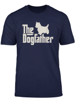 The Dogfather West Highland White Terrier Funny Dog Tshirt