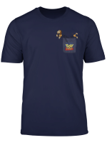 Disney Pixar Toy Story Slinky Dog Pocket Graphic T Shirt