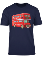 Love London Red Bus Tourist T Shirt Gift For Women Men Kids