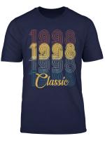 Classic 21St Birthday Gift Tshirt For Men Women Vintage 1998 T Shirt
