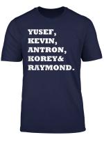 Central Park 5 Five T Shirt Exonerated 5 Five Shirt