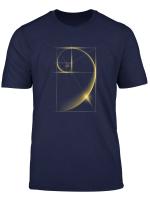 Fibonacci Golden Ratio T Shirt