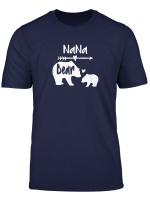 Nana Bear Shirt With Baby Cub Heart Arrow Graphics T Shirt