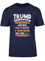 Trump Sandwich Anti Trump Impeachment Funny T Shirt