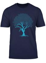 Binary Coding Tree Gift Design Idea T Shirt