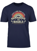 Bagel Shirt Just A Girl Who Loves Sunshine And Bagels T Shirt