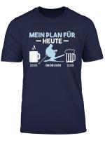 Lustig Skifahren Mein Plan Fur Heute Ski Skier T Shirt