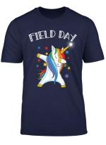 Teacher Team Shirts Field Day With Cool Dabbing Unicorn Dab