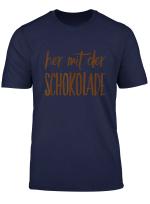 Her Mit Der Schokolade Motiv T Shirt
