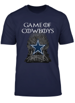 Father S Day Gift Cowboy Flag Football Dallas Fans T Shirt