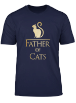 Father Of Cats Shirt Cat Lovers Cat Dad Gift T Shirt
