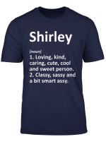 Shirley Definition Personalized Funny Birthday Gift Idea T Shirt