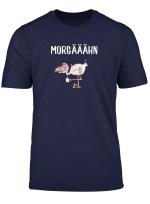 Muder Kaffee Flamingo Mit Pantoffel T Shirt I Buro Lustig