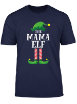 Mama Elf Matching Family Group Christmas Party Pajama T Shirt