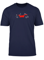 James Beach Buggy T Shirt For Red Dune Buggy Fans