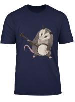 Opossum Playing The Banjo Possum Shirt