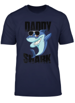 Father S Day Gift T Shirts Funny Dabbing Daddy Shark T Shirt