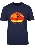 Funny Pirate Parrot T Shirt Gift