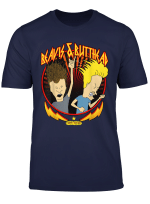 Beavis And Butthead Metal Colors Rock Out Graphic T Shirt