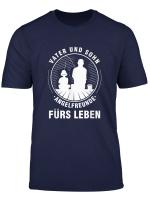 Angelfreunde Vater Und Sohn Angelrute Fisch Fischer Geschenk T Shirt