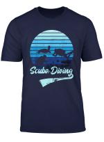 Scuba Diving Tshirt Tauchen Taucher Tauch Vintage Retro T Shirt