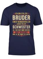 Lustiges Bruder Schwester Geburtstag Weihnachten Geschenk T Shirt