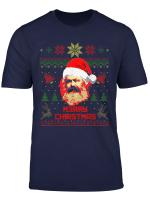 Karl Marx Merry Christmas Lustige Weihnachten T Shirt