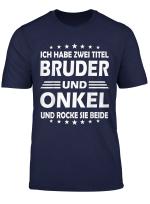 Lustiger Spruch Geschenk Werdender Patenonkel Bruder Onkel T Shirt