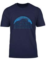 Bergmensch Bergliebe Wanderer Berge Gebirge Kletter Geschenk T Shirt