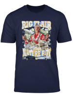 Ric Flair Nature Boy With Ric Flair Side Portrait T Shirt