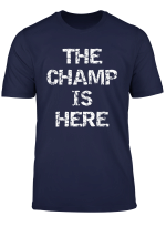 Funny Fantasy Football Championship Trophy The Champ Is Here T Shirt