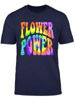 Retro Hippie Batik Spirale Flower Power 3 Fun T Shirt