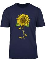 You Are My Sunshine Skull And Sunflower T Shirt