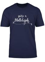 Vintage Raise A Hallelujah Christian T Shirt