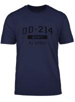 Dd 214 U S Army Alumni Shirt For A Retired Hero